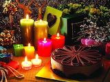 Christmas-candles-cake-