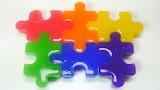 Jigsaw of a gummy jigsaw!