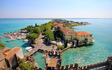 Town of Sirmione Northern Italy