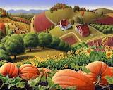 Appalachian Pumpkin Patch~ Walt Curlee wallpaper 900x720-6