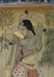 Dancer, Indian miniature from Decca