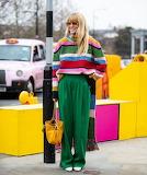 Colorful Street Wear