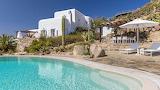 Luxury rural villa and pool, Greek islands