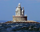 Race Rock Lighthouse Fisher's Island New York USA