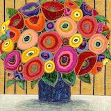 ^ Imaginary Bouquet ~ Maria Reyes-Jones