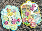 Painted cookies by Lydia Oviedo