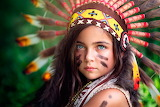 Girl-Native-American-Backgrounds
