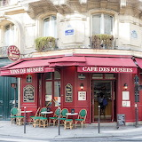 Cafe des Musees Paris France