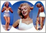 Marilyn Beach Poses