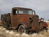 1934 Chevrolet truck rusting away