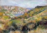Renoir, Hills around the Bay of Moulin Huet, Guernsey, ca 1883