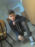 Boy in converse