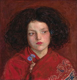 The Irish Girl - Ford Madox Brown 1860