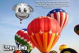 Looky Lamb Balloon