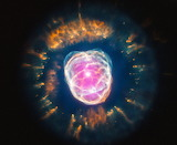 "Space tumblr wonders-of-the-cosmos ""Eskimo Nebula"" NASA Chandra"
