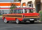 1965 Ford Falcon Squire Station Wagon