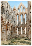 The Interior of Whitby Abbey, Yorkshire
