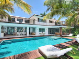 Luxury Miami Beach house, garden and pool