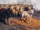 Brancaleone Cugusi, Ombra del pastore, 1930's
