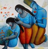Blue family - Samir Sarkar