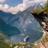 Geiranger. Norway
