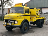 Yellow Mercedes Truck