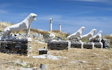 Delos-island-avenue-of-lions-archaeological-site