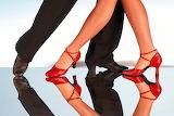 tango dancers legs