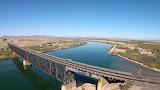 Santa Fe Railway Bridge Topock Arizona USA