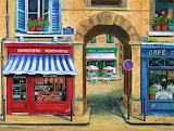 French butcher shop