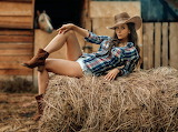Resting Cowgirl