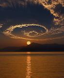 Spiral Sunset Fethiye Turkey