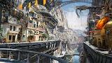 Steampunk-canyon-city