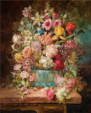 Floral Still Life~ Hans Zatzka (1859-1945)