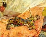 G-A Rochegrosse, A Portrait of Sarah Bernhardt