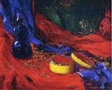 Joseph Kleitsch, Yellow and Blue Cloissonne, 1925