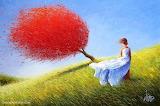 Wind Girl by Dima Dimitriev