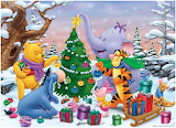Disney Pooh Christmas
