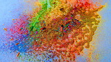 Crumbled, Powered Color