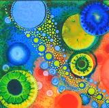 resin art, Jeanne Rhea