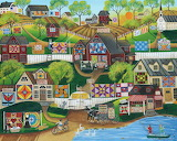 Quilts and Barns Village - Cheryl Bartley
