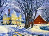 Christmas on the Farm~ HD 1024x768