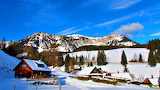 Winter Morning Seewiesen Austria