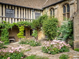 Great Chalfield Manor back courtyard, Wiltshire