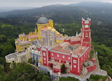 Pena Palace Arial View