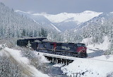 Southern Pacific Train, CO