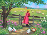 Sheep in the Pasture~ John Sloane