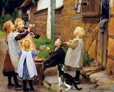 Blowing Bubbles ~ Hans A Brendekilde