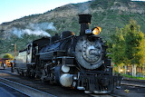 Durango and Silverton Locomotive #486