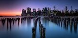 Downtown Manhattan from the Brooklyn Bridge Park